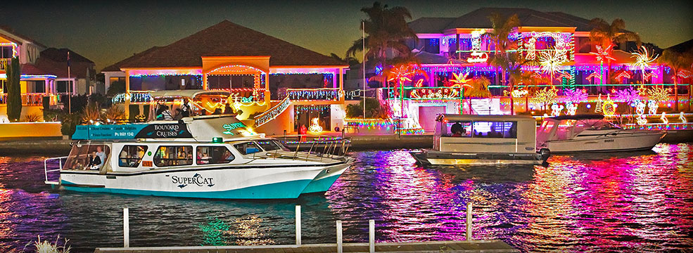 Mandurah Festive Lights - Festive Lights Mandurah Discovery Holidays
