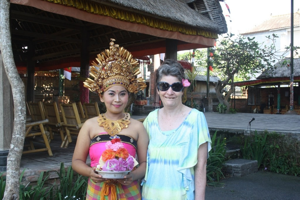 Balinese Traditional Dancer with Deb 2015