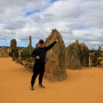 Adam at the Pinnacles