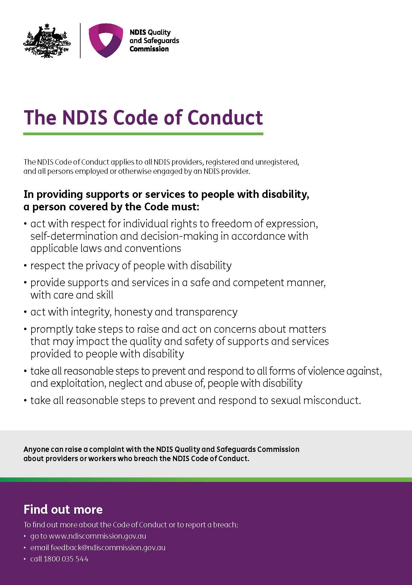 NDIS - CodeOfConduct