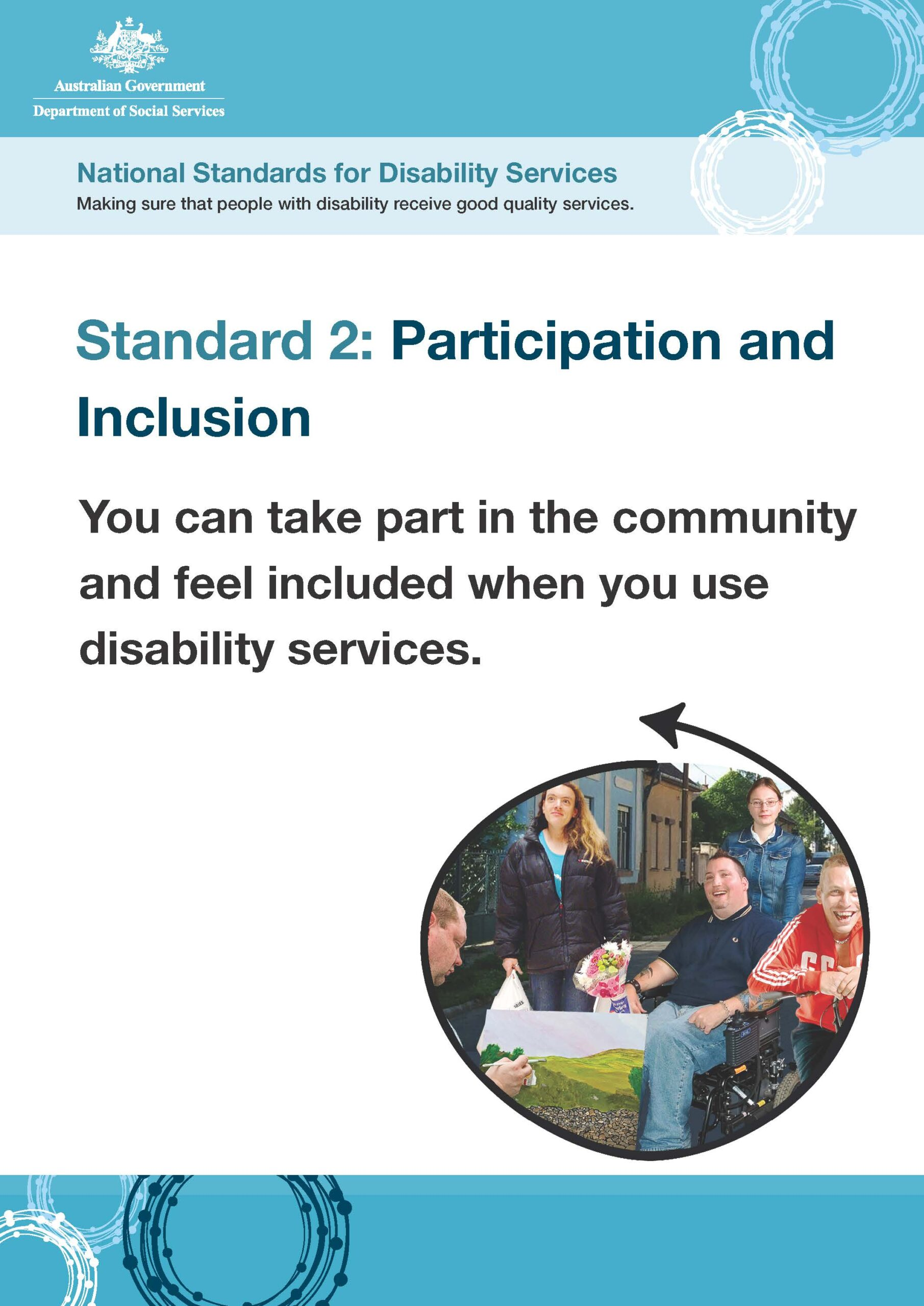 We support experiences of social belonging and authentic community relationships.
